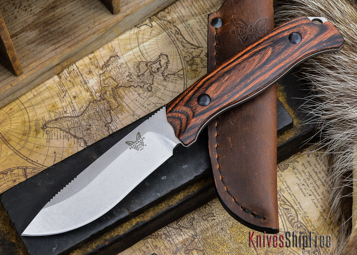Benchmade Knives: 15001-2 HUNT - Saddle Mountain Skinner - Stabilized Wood primary image