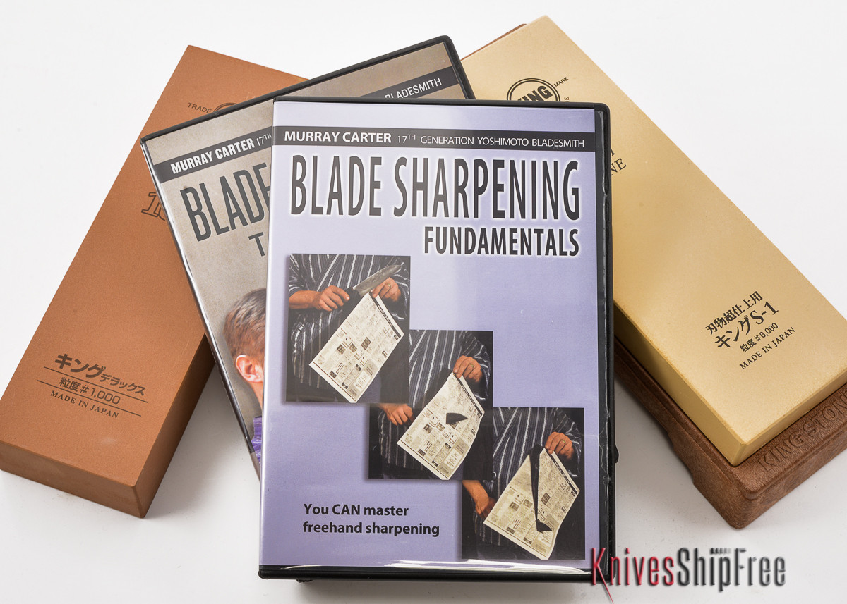 Complete Sharpening Equipment Package - Waterstone & DVD Set primary image