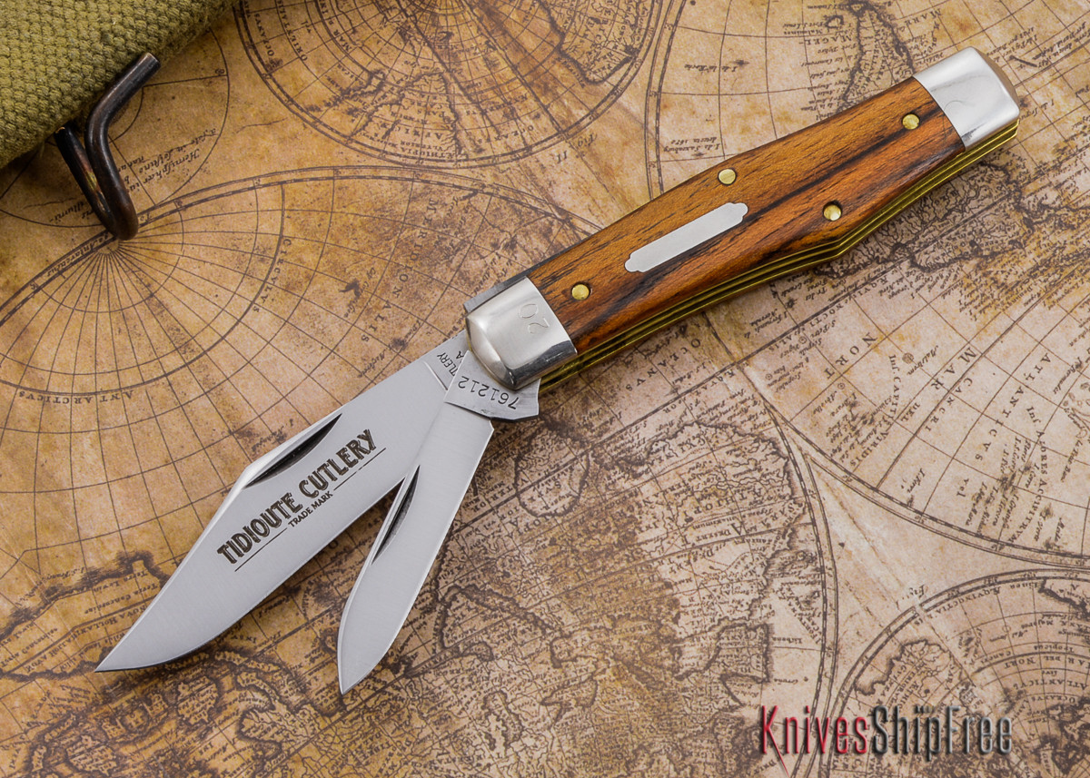 Great Eastern Cutlery: #76 - Tidioute - Outlaw Jack - Mexican Bocote -  Serialized