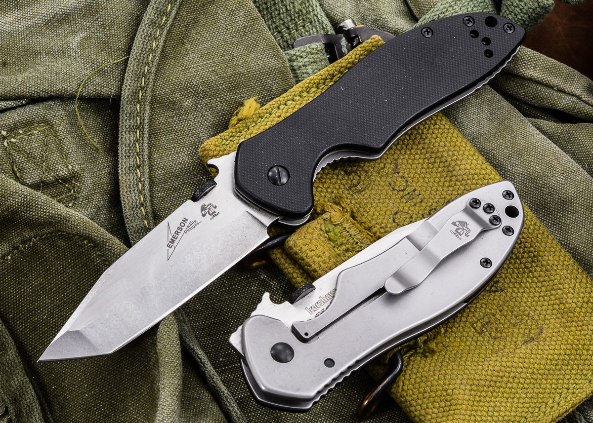 Kershaw Knives: Emerson CQC-7K - Satin Finish - 6034T
