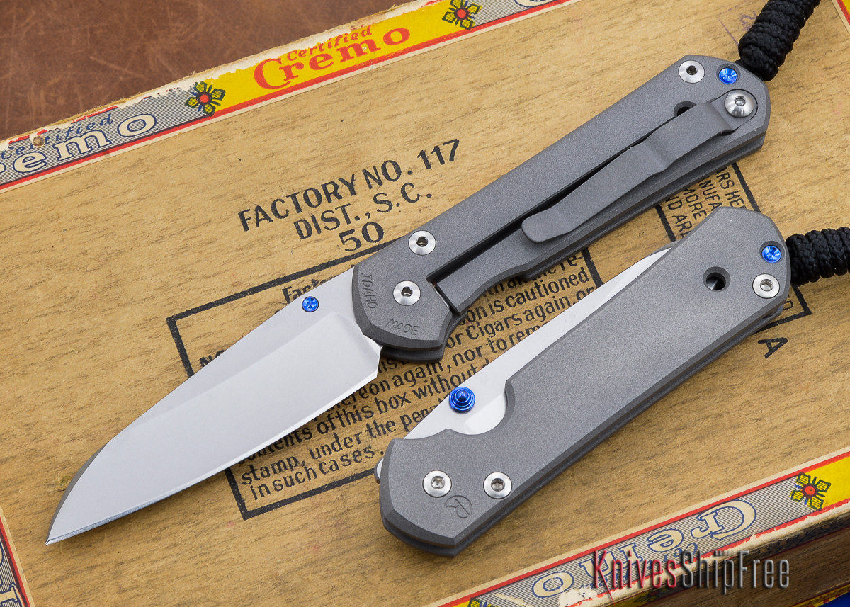 Chris Reeve Knives: Small Sebenza 21 - Insingo - Left Handed primary image