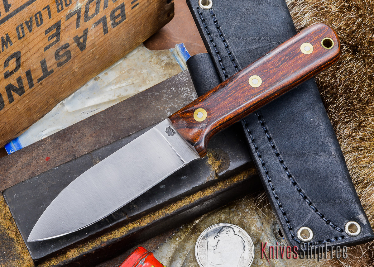 L.T. Wright Knives: Genesis - Desert Ironwood - Flat Ground - A2 Steel - #7 primary image