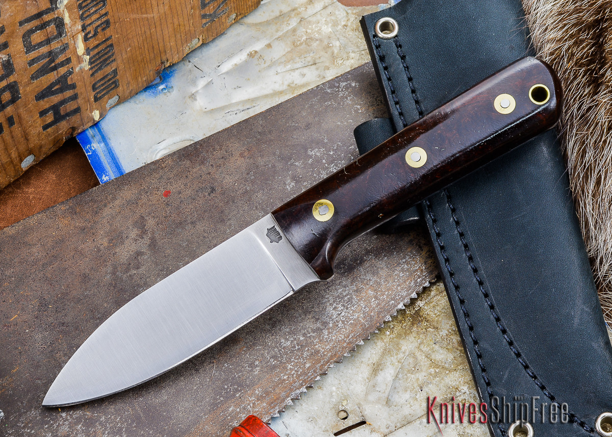 L.T. Wright Knives: Genesis - Desert Ironwood - Flat Ground - A2 Steel - #14 primary image