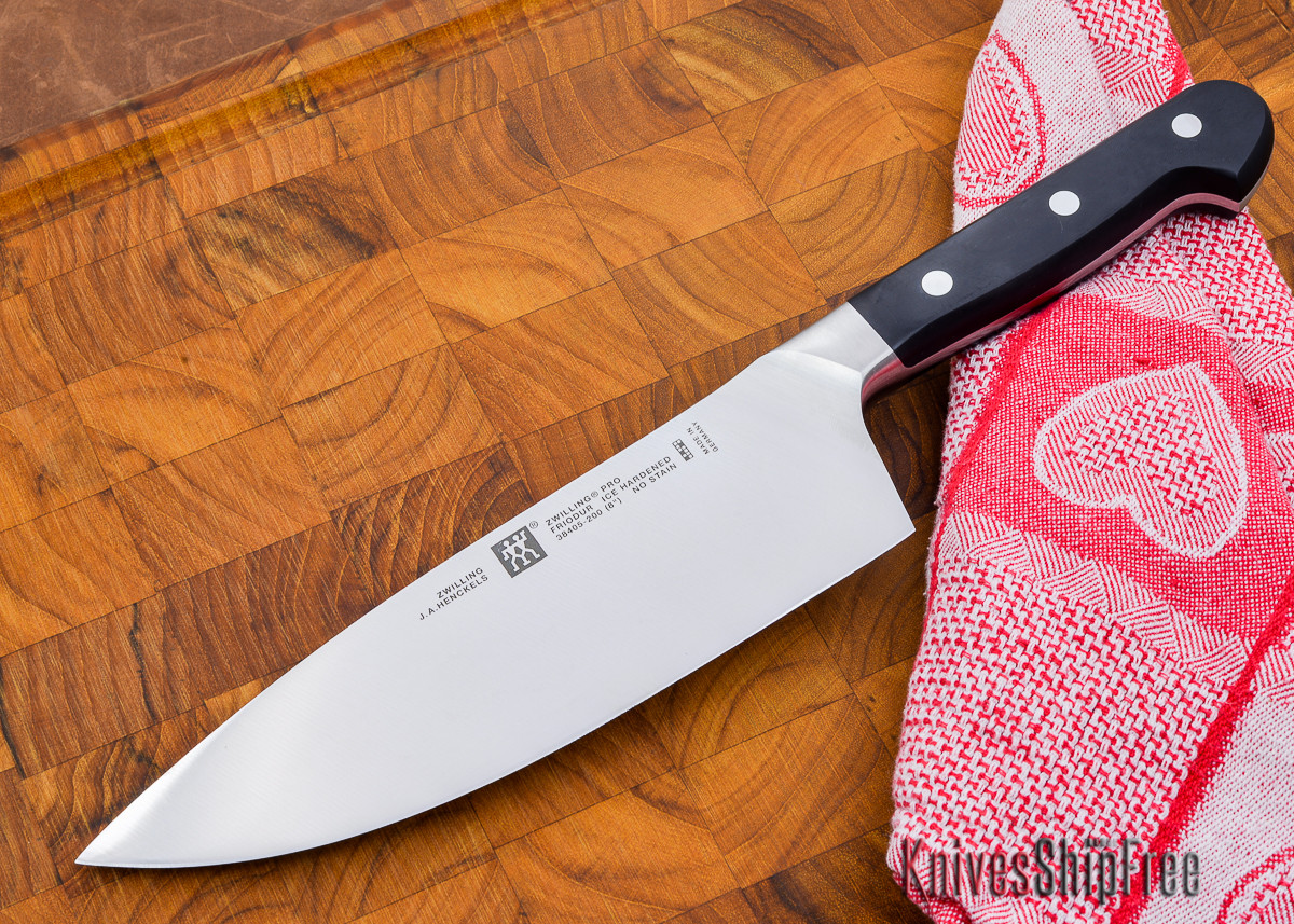 "Henckels ZWILLING Pro - 8"" Wide Chef's Knife primary image"