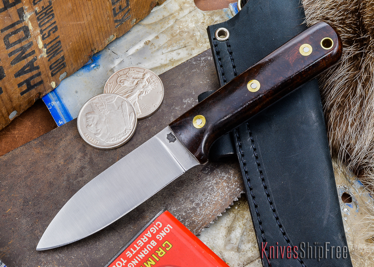 L.T. Wright Knives: Genesis - Desert Ironwood - Flat Ground - A2 Steel - #24 primary image