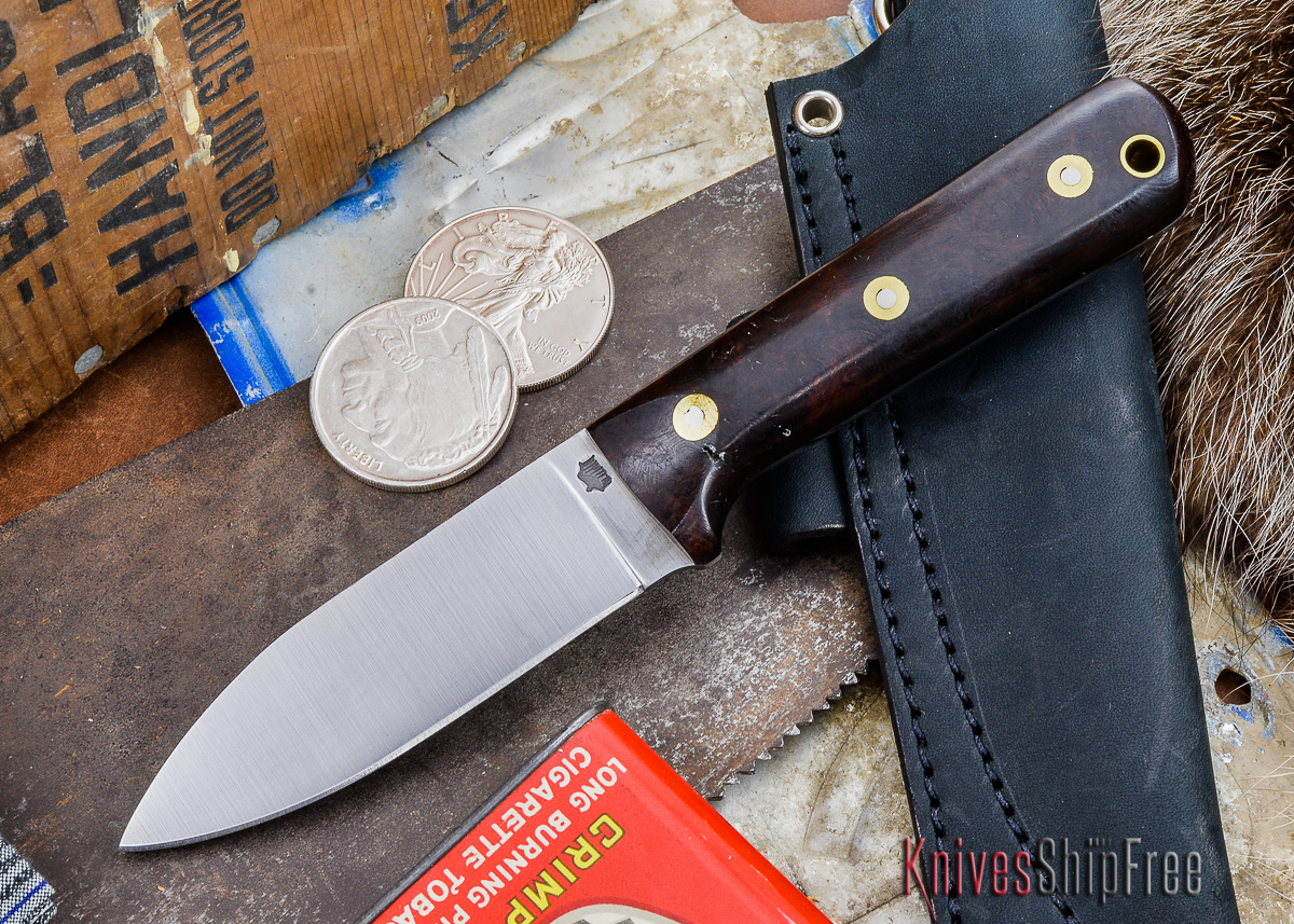 L.T. Wright Knives: Genesis - Desert Ironwood - Flat Ground - A2 Steel - #33 primary image