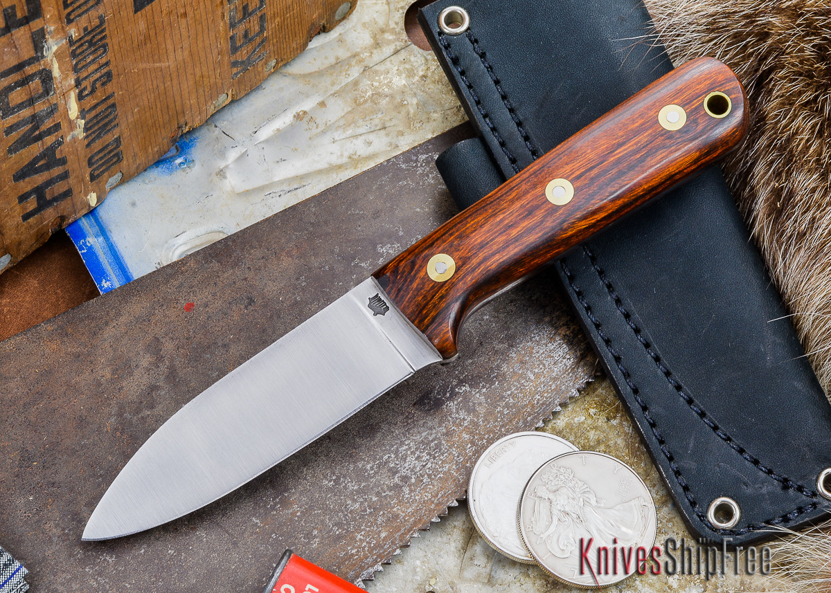 L.T. Wright Knives: Genesis - Desert Ironwood - Flat Ground - A2 Steel - #47 primary image