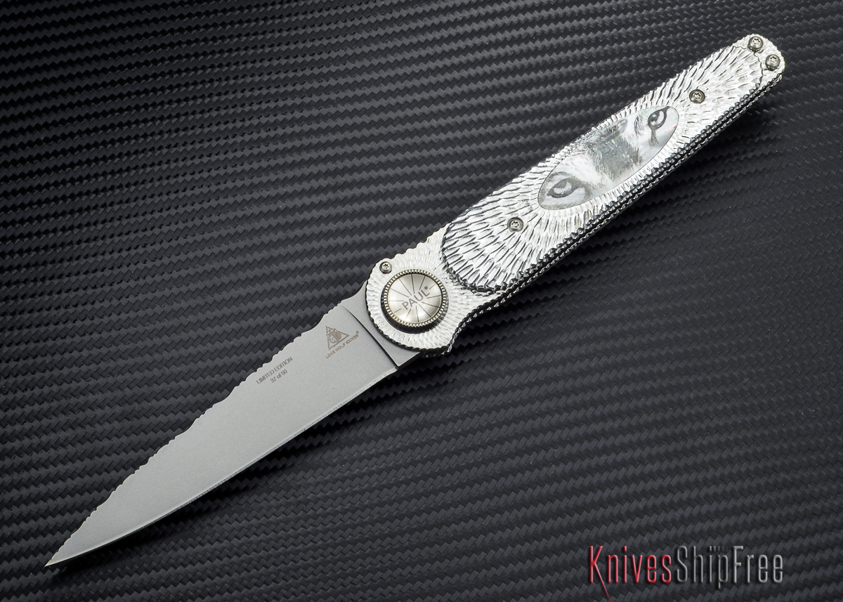 Lone Wolf Knives: Paul Defender - Wolf Eyes - Limited Production - LM24210 - #37 primary image