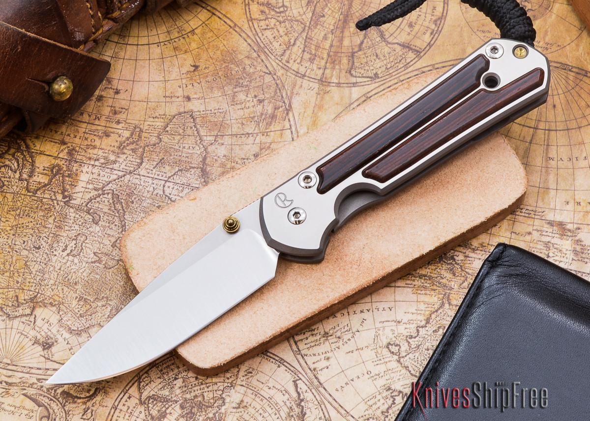 Chris Reeve Knives: Small Sebenza 21 - Cocobolo - E primary image