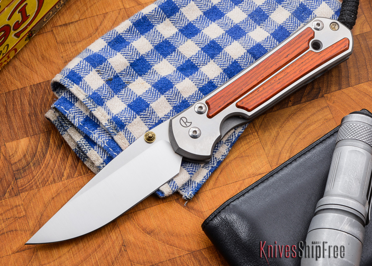 Chris Reeve Knives: Large Sebenza 21 - Cocobolo - N primary image