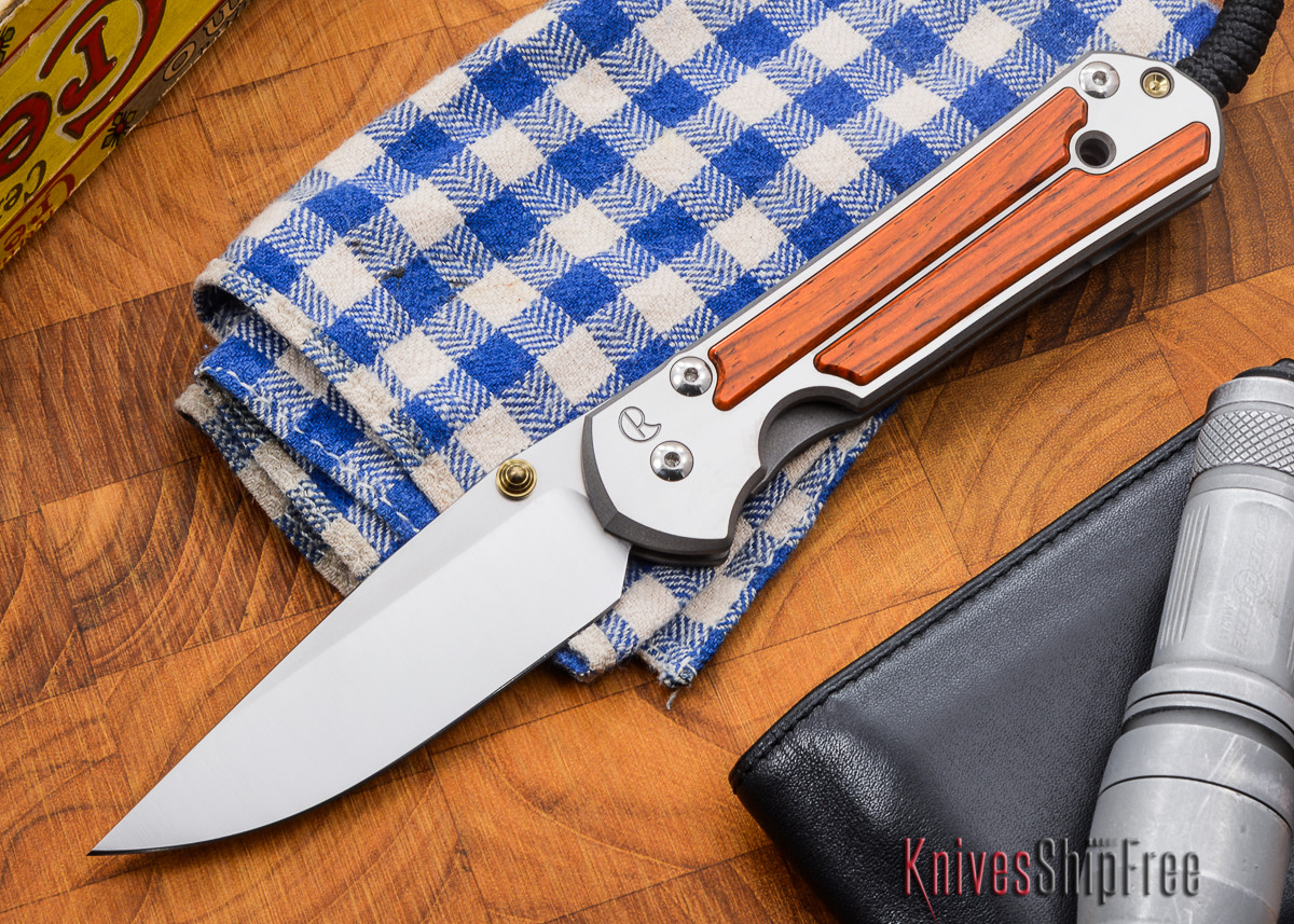 Chris Reeve Knives: Large Sebenza 21 - Cocobolo - O primary image