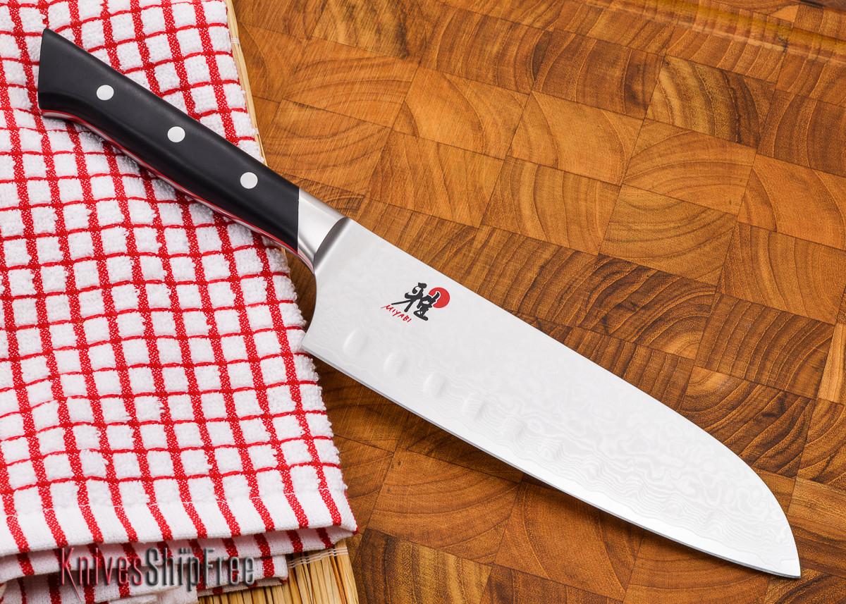 """MIYABI: Fusion - 7"""" Hollow Edge Santoku Knife primary image"""