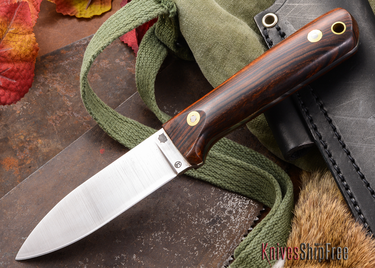 L.T. Wright Knives: Genesis PT - Desert Ironwood - Flat Ground - A2 Steel - #30 - Prototype primary image
