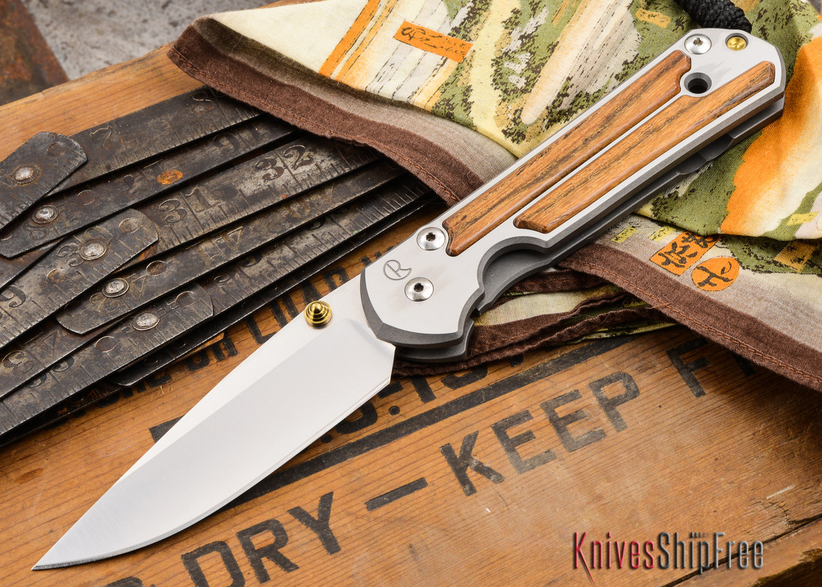 Chris Reeve Knives: Large Sebenza 21 - Bocote Inlay - U