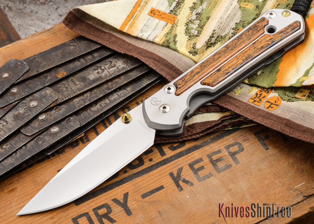 Chris Reeve Knives: Large Sebenza 21 - Bocote Inlay - W primary image