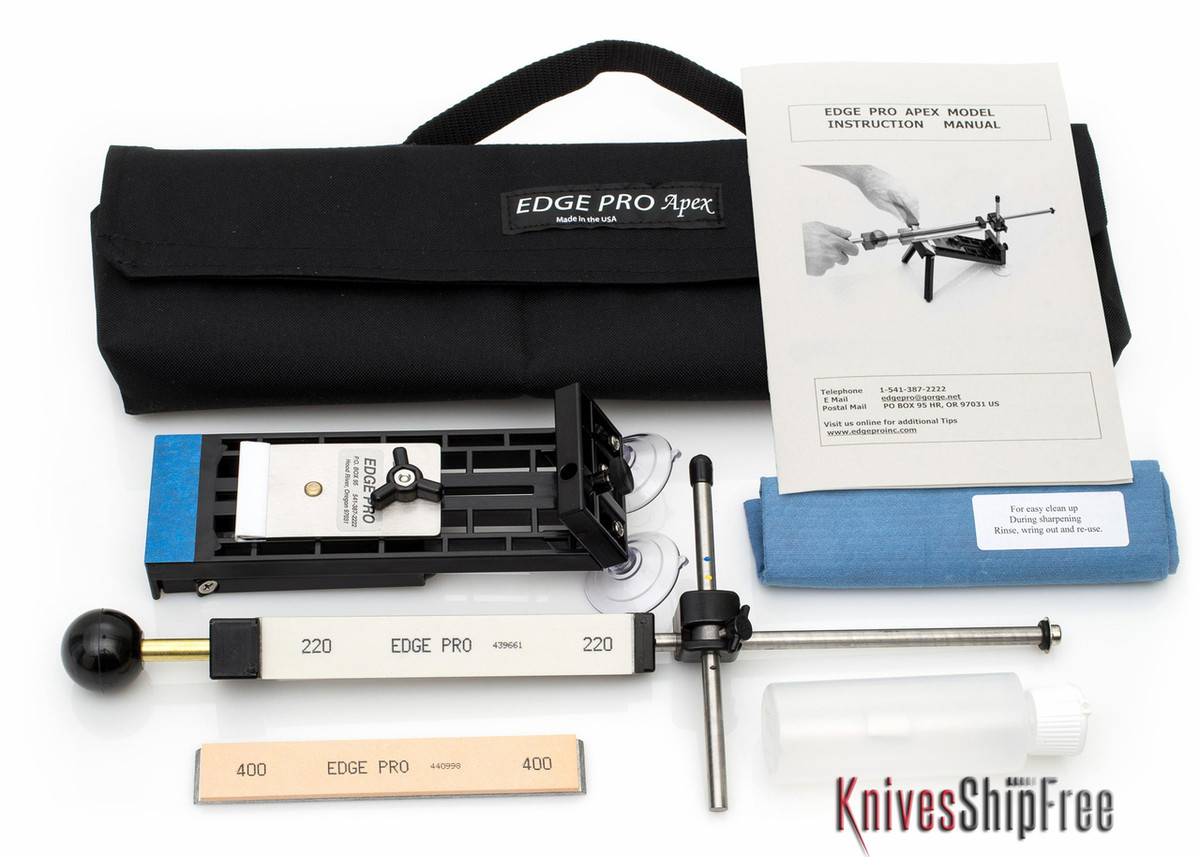 Edge Pro: Apex 1 Kit - Apex Model Sharpening System
