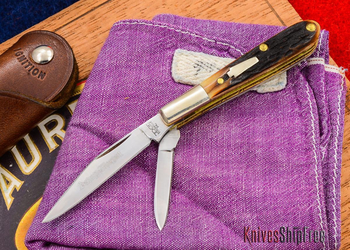 Schatt & Morgan: Keystone Series - Gentlemen's Mini Barlow - Two-Blade - Stag - 010906 primary image