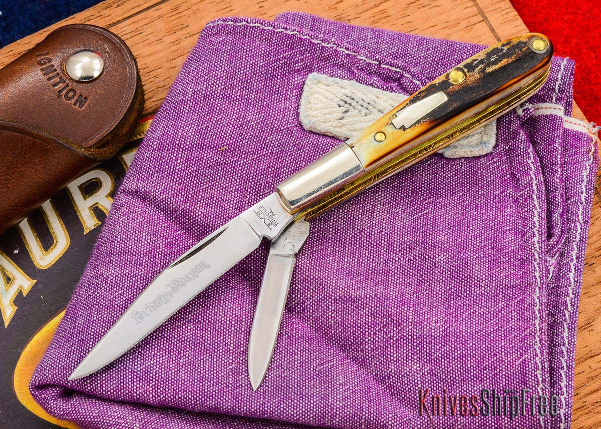 Schatt & Morgan: Keystone Series - Gentlemen's Mini Barlow - Two-Blade - Stag - 010909 primary image