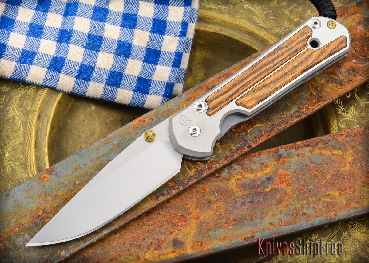 Chris Reeve Knives: Large Sebenza 21 - Bocote Inlay - 011301 primary image