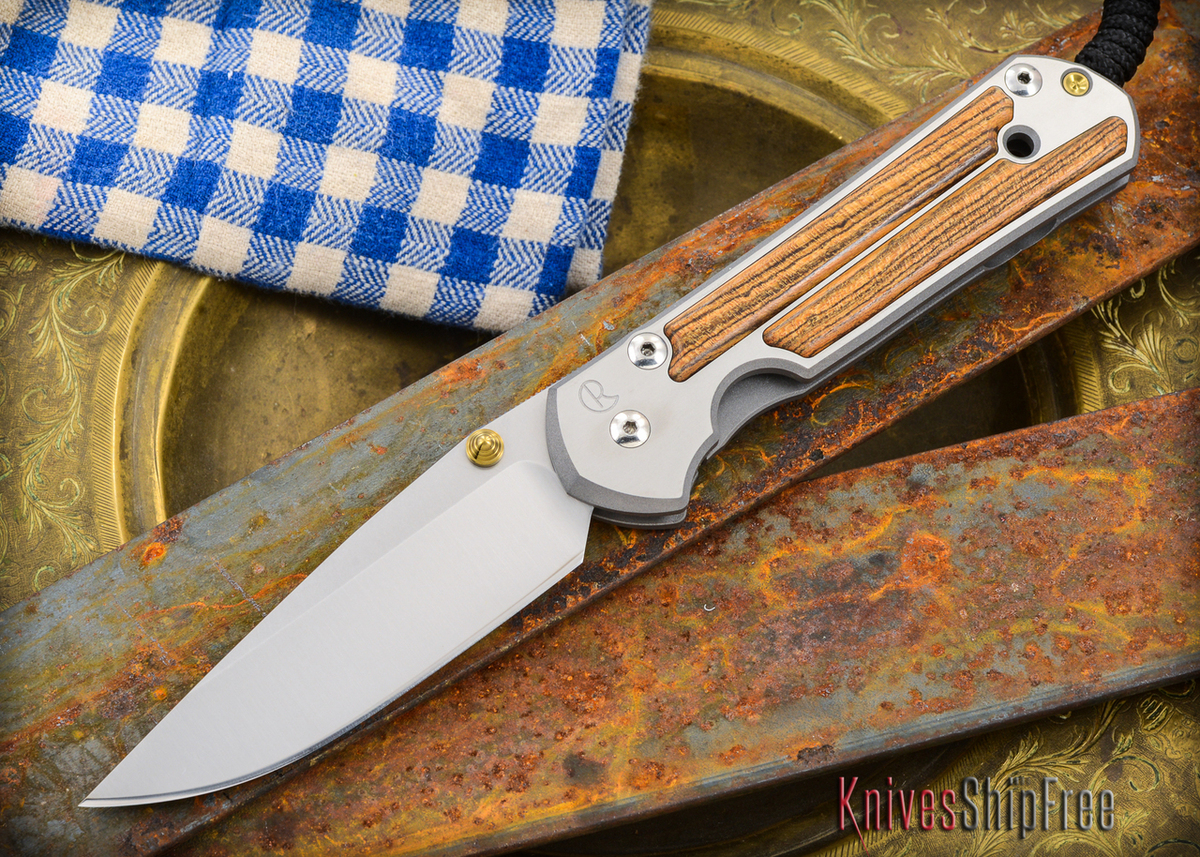 Chris Reeve Knives: Large Sebenza 21 - Bocote Inlay - 011303 primary image