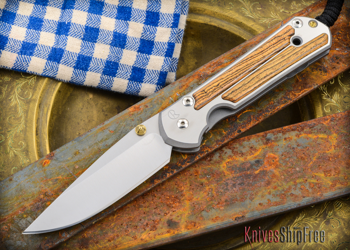 Chris Reeve Knives: Large Sebenza 21 - Bocote Inlay - 011304 primary image