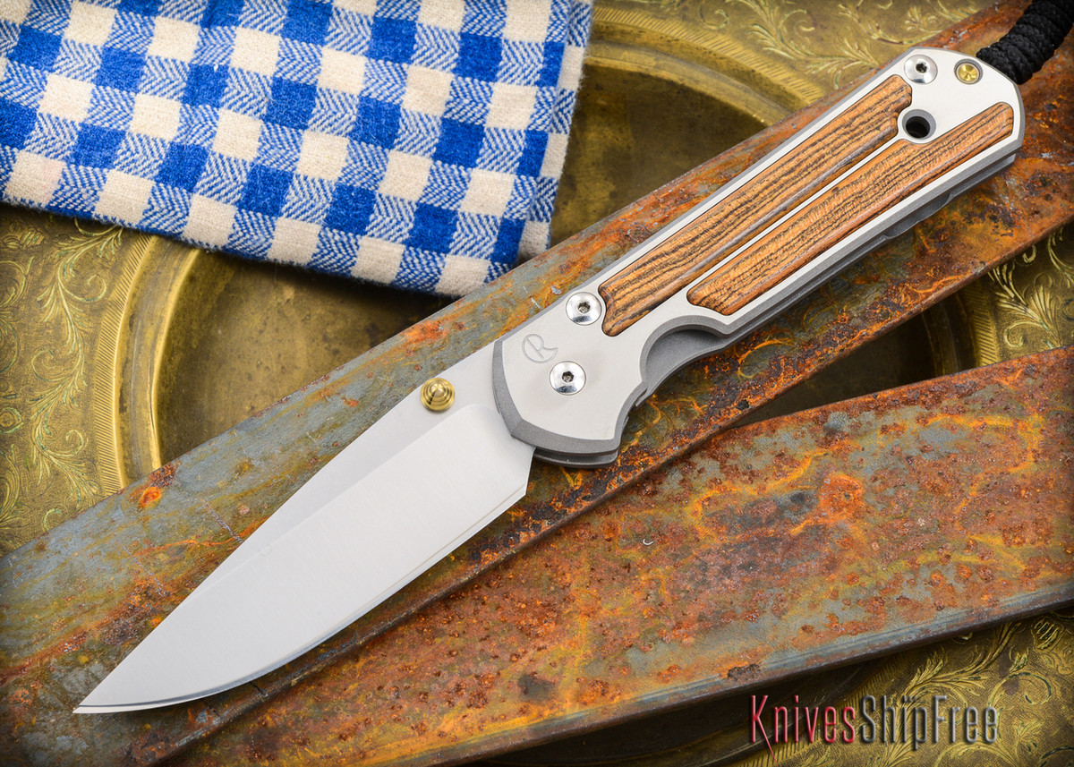 Chris Reeve Knives: Large Sebenza 21 - Bocote Inlay - 011305