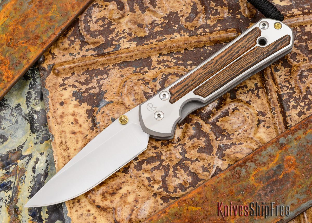 Chris Reeve Knives: Large Sebenza 21 - Bocote Inlay - 012101 primary image