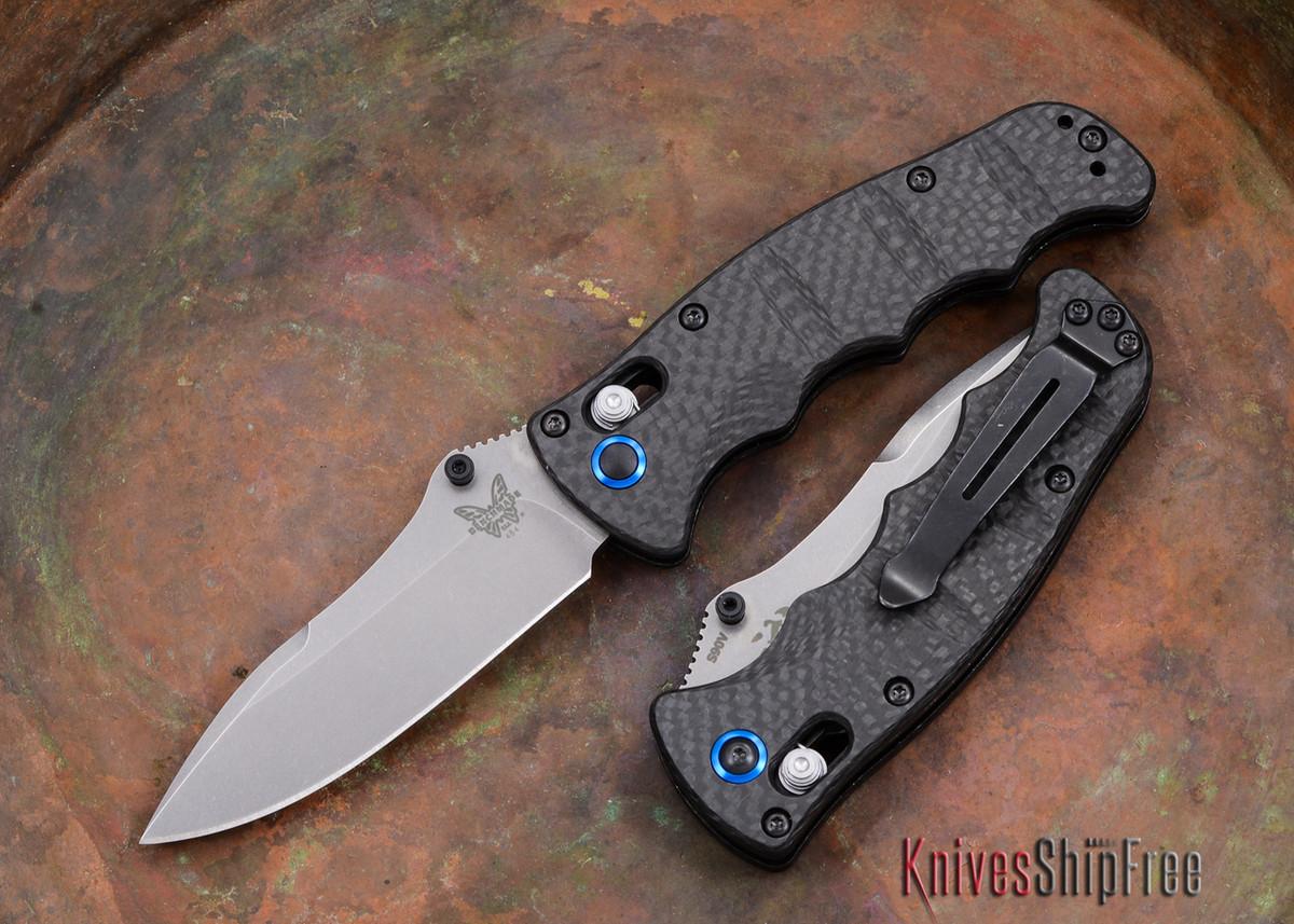 Benchmade Knives: 484-1 Nakamura - Carbon Fiber - CPM-S90V primary image