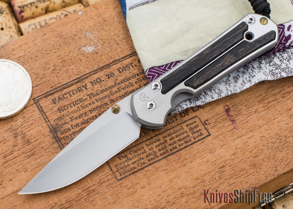 Chris Reeve Knives: Small Sebenza 21 - Gabon Ebony Inlay - 030304 primary image