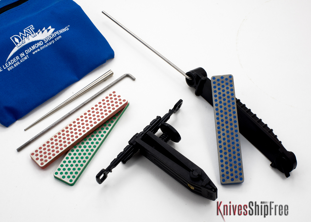DMT Deluxe Aligner Kit - 3 Diamond Stones / Serrated Sharpener