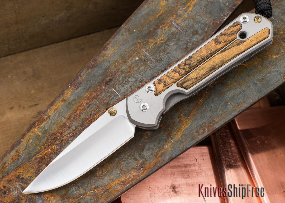 Chris Reeve Knives: Small Sebenza 21 - Bocote - 032504 primary image