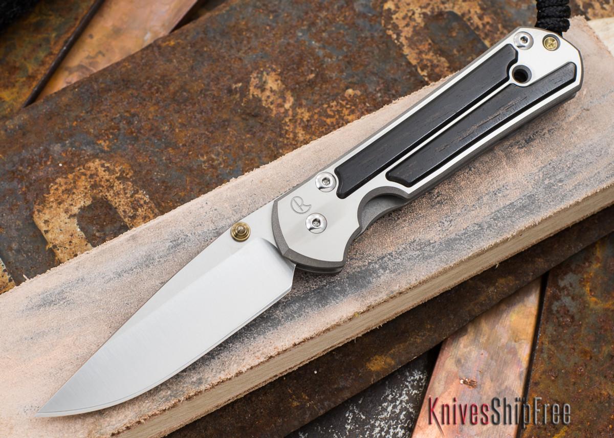 Chris Reeve Knives: Small Sebenza 21 - Gabon Ebony Inlay - 033101 primary image