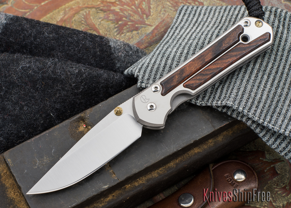 Chris Reeve Knives: Small Sebenza 21 - Cocobolo - 040305 primary image