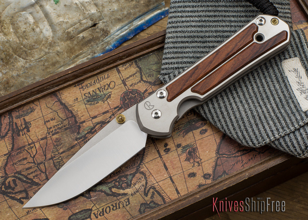 Chris Reeve Knives: Large Sebenza 21 - Cocobolo - 050501 primary image