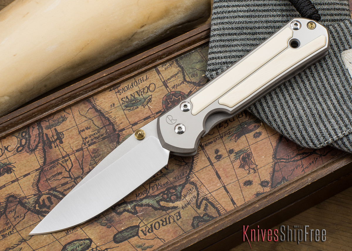 Chris Reeve Knives: Large Sebenza 21 - Mammoth Ivory Inlay - 050502 primary image