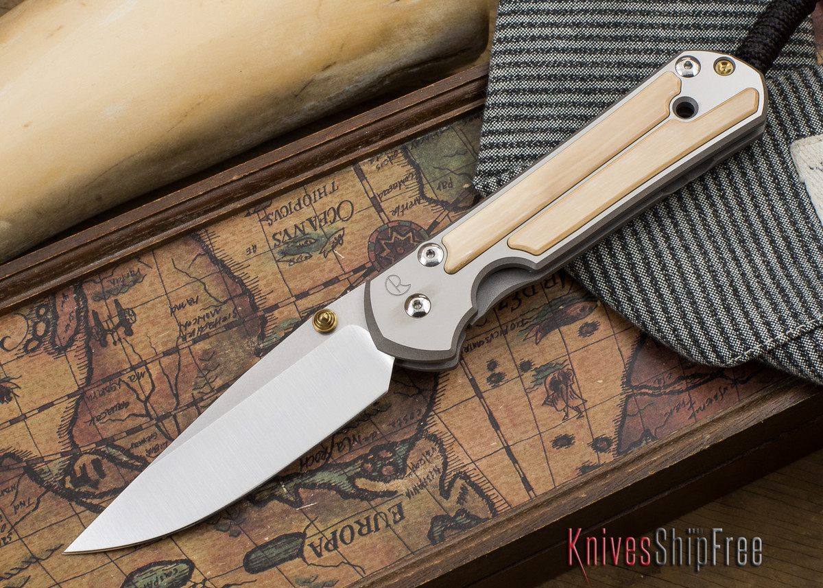 Chris Reeve Knives: Large Sebenza 21 - Mammoth Ivory Inlay - 050505 primary image