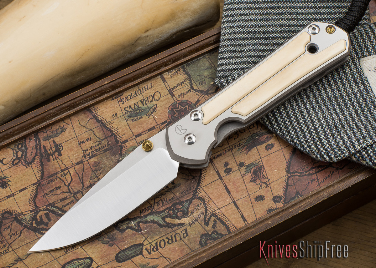 Chris Reeve Knives: Large Sebenza 21 - Mammoth Ivory Inlay - 050506 primary image
