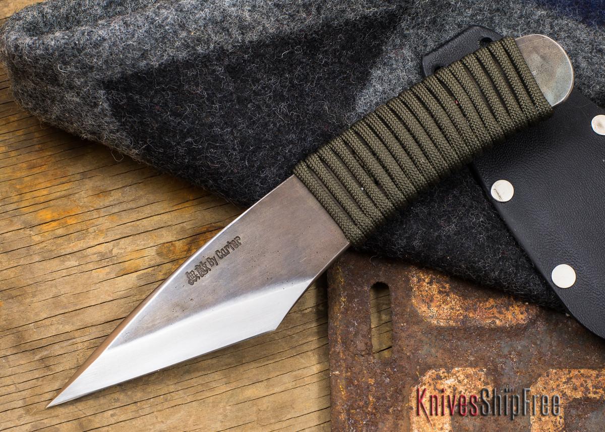 Carter Cutlery: Muteki Series - Kiridashi Model - Cord Wrapped Handle - 82613 primary image