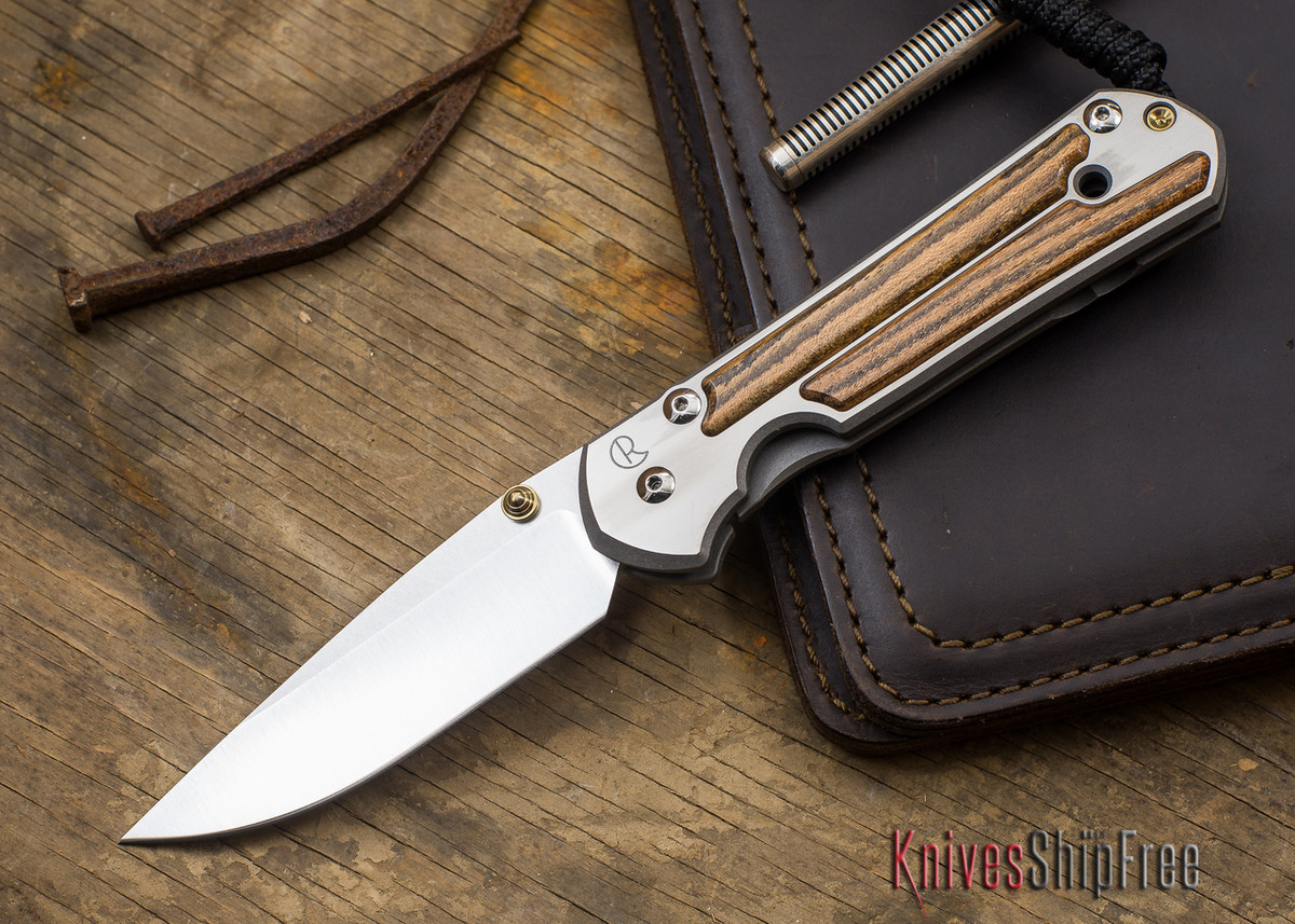 Chris Reeve Knives: Large Sebenza 21 - Bocote Inlay - 091404 primary image
