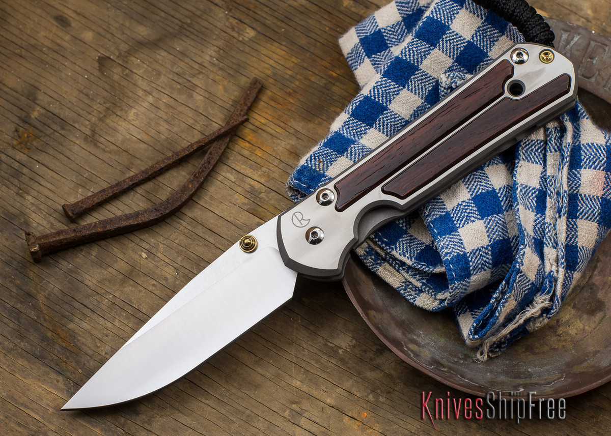 Chris Reeve Knives: Large Sebenza 21 - Cocobolo Inaly - 91403 primary image