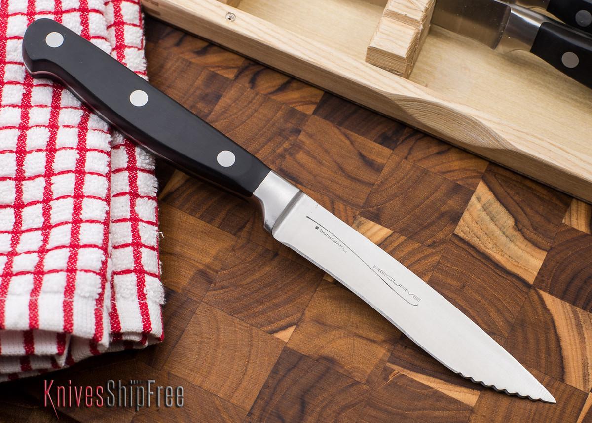 Kitchen Cutlery: Recurve Steak Knife - 4 Piece Set primary image