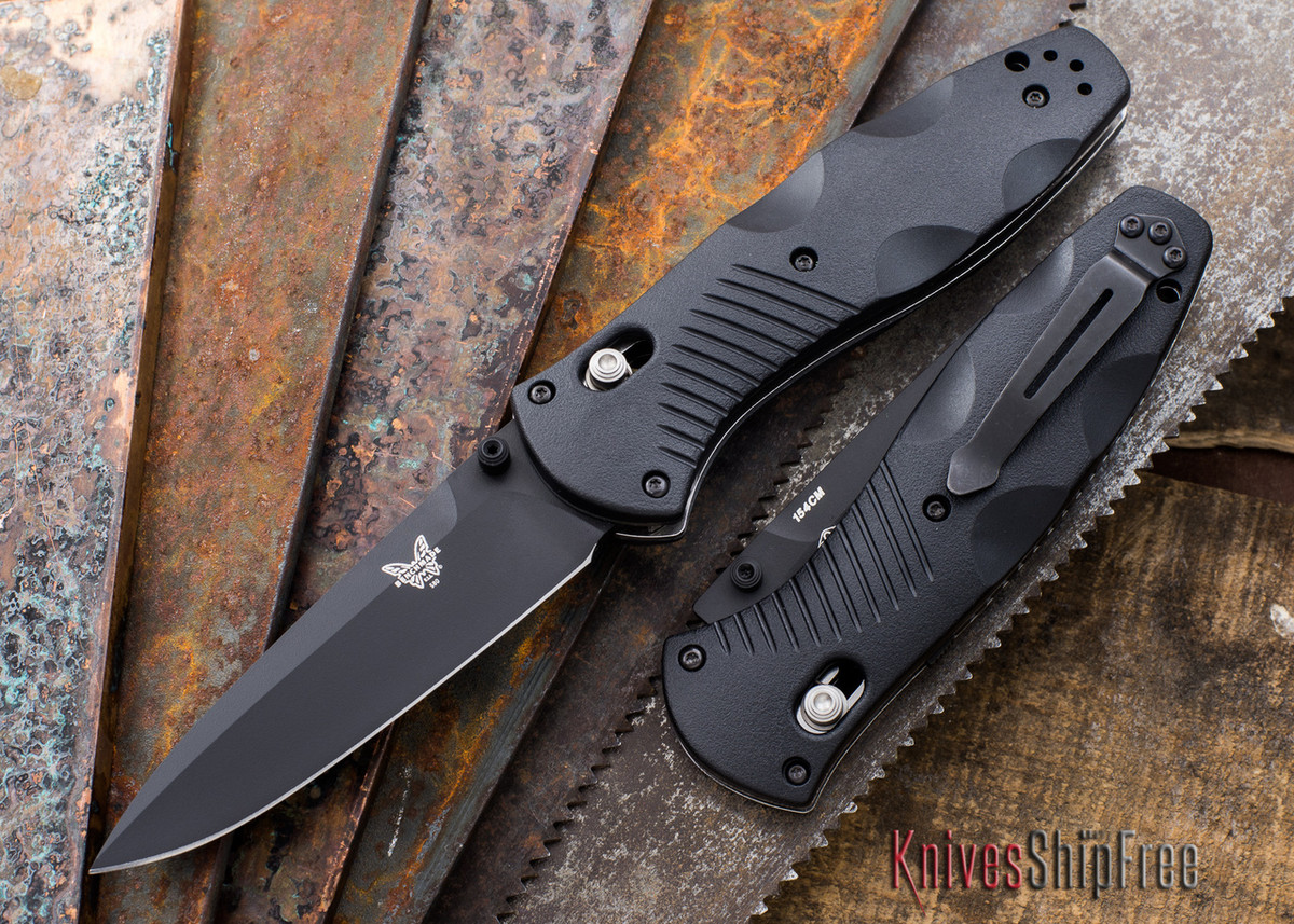Benchmade Knives: 580BK Barrage - Black Blade