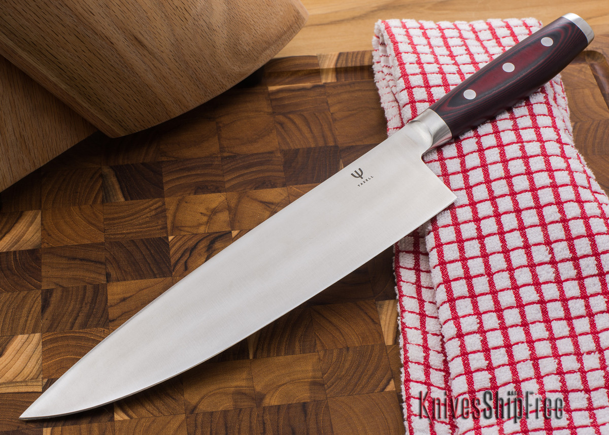 "Yaxell: Red Dragon - 10"" Chef's Knife primary image"