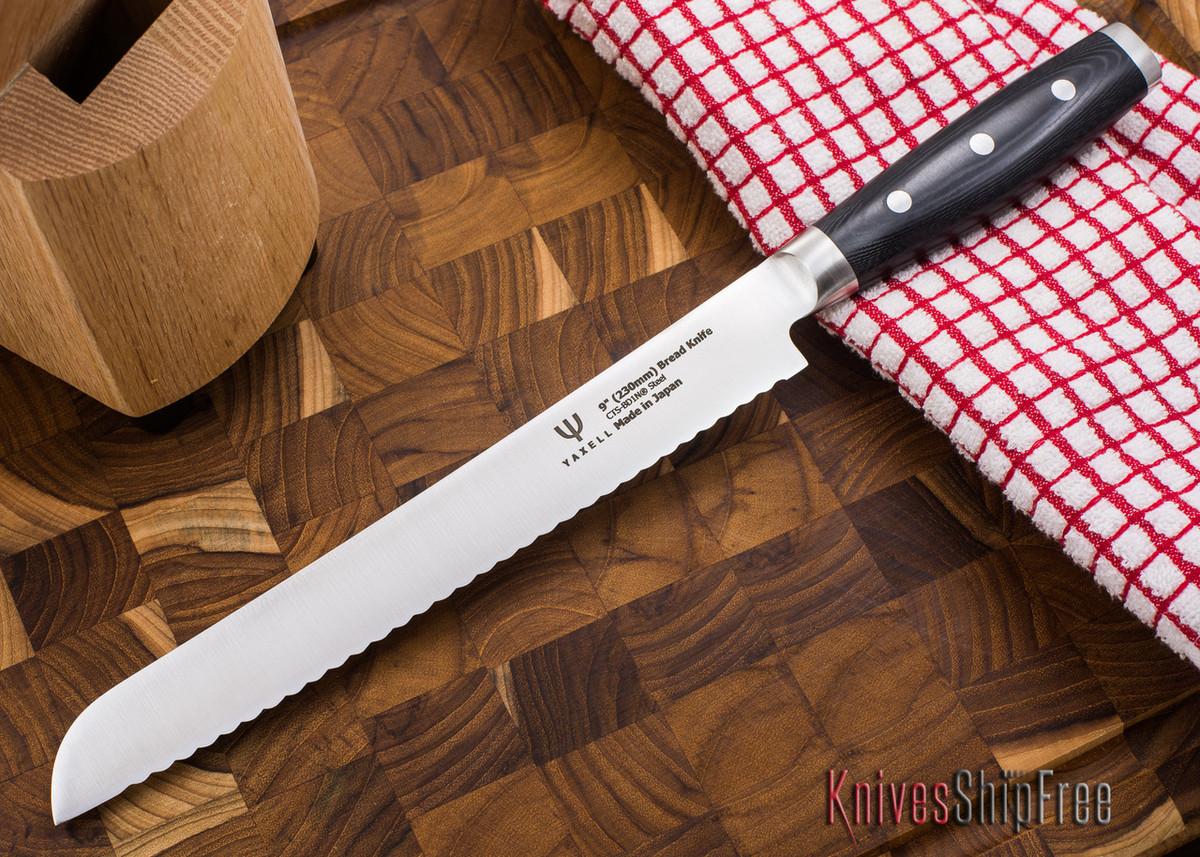 "Yaxell: Dragon - 9"" Bread Knife"