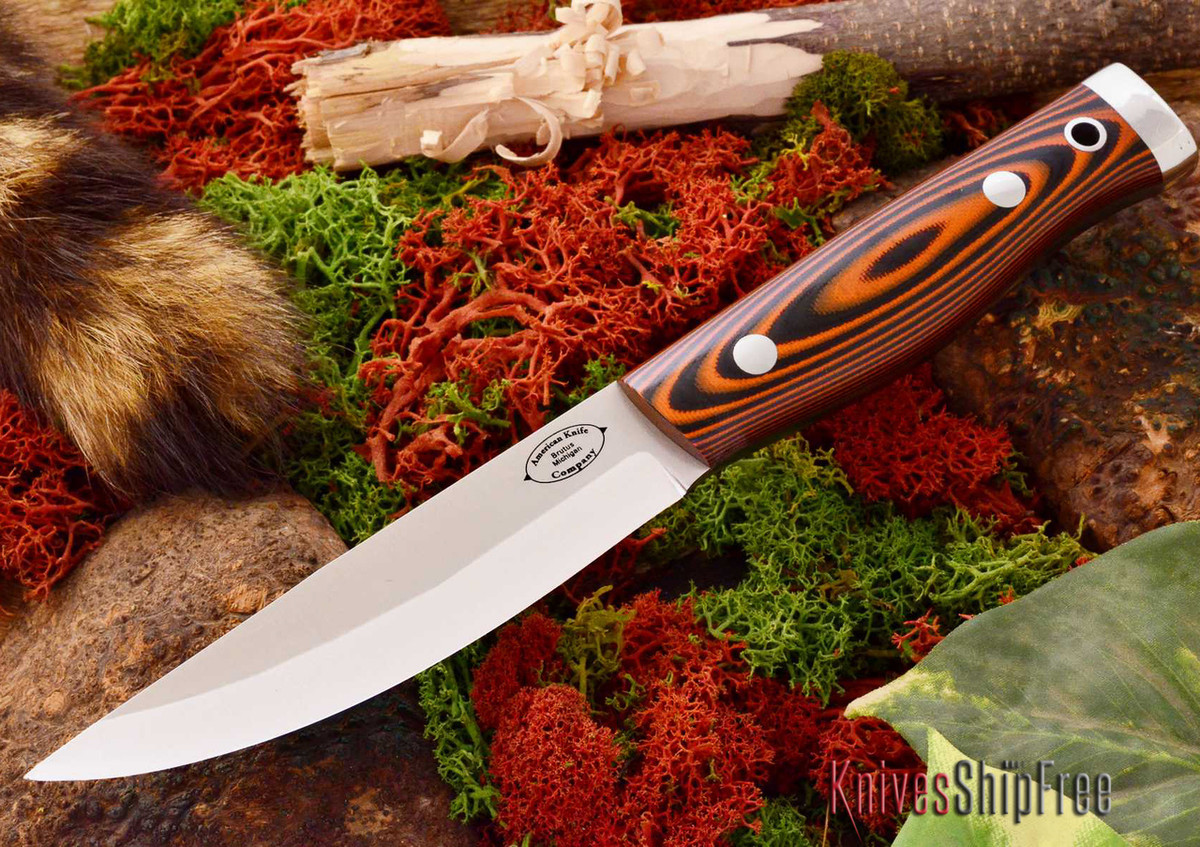 American Knife Company: Forest II - Tigerstripe G-10 primary image