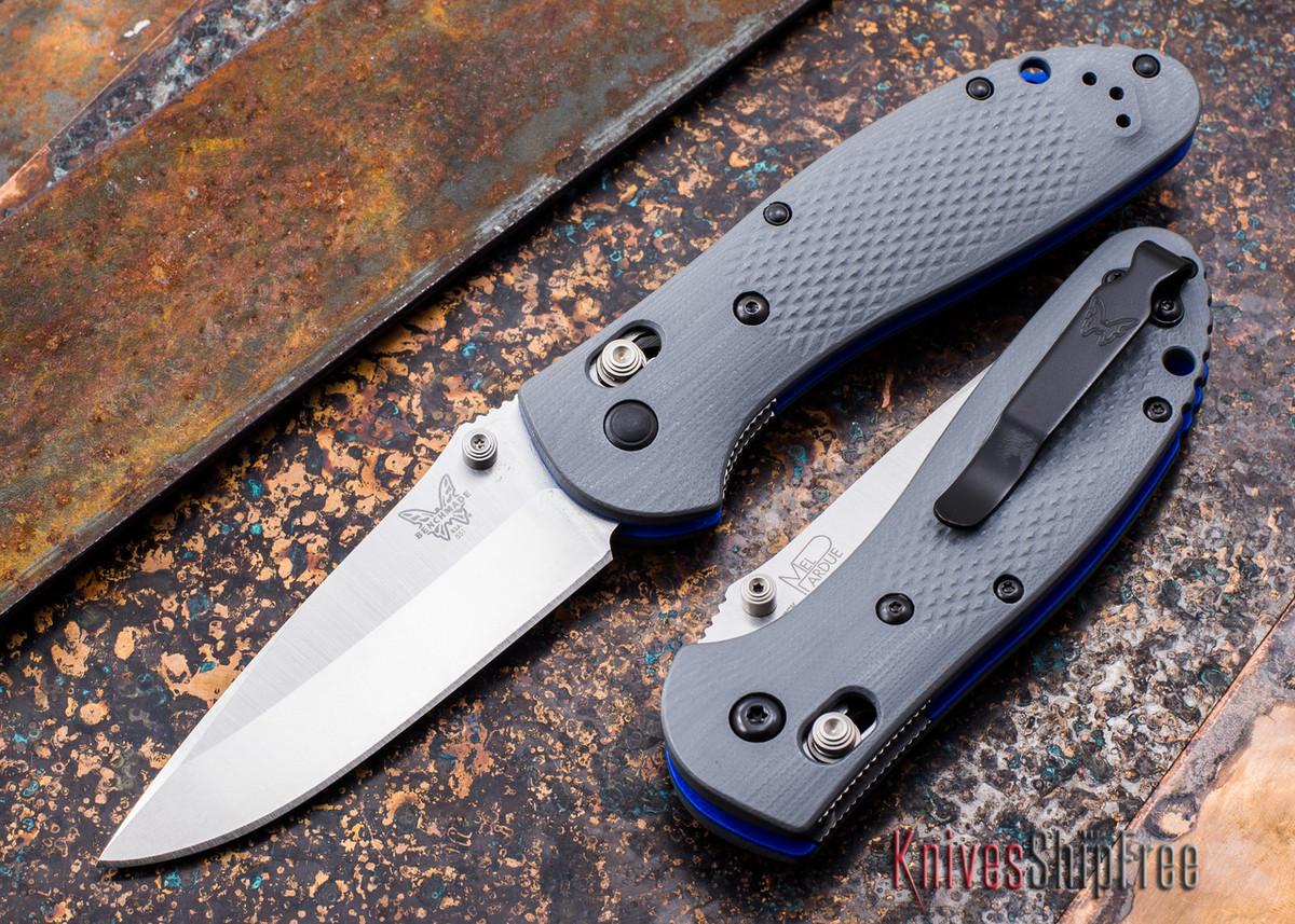 Benchmade Knives: 551-1 Griptilian - Gray G-10 - CPM 20CV primary image