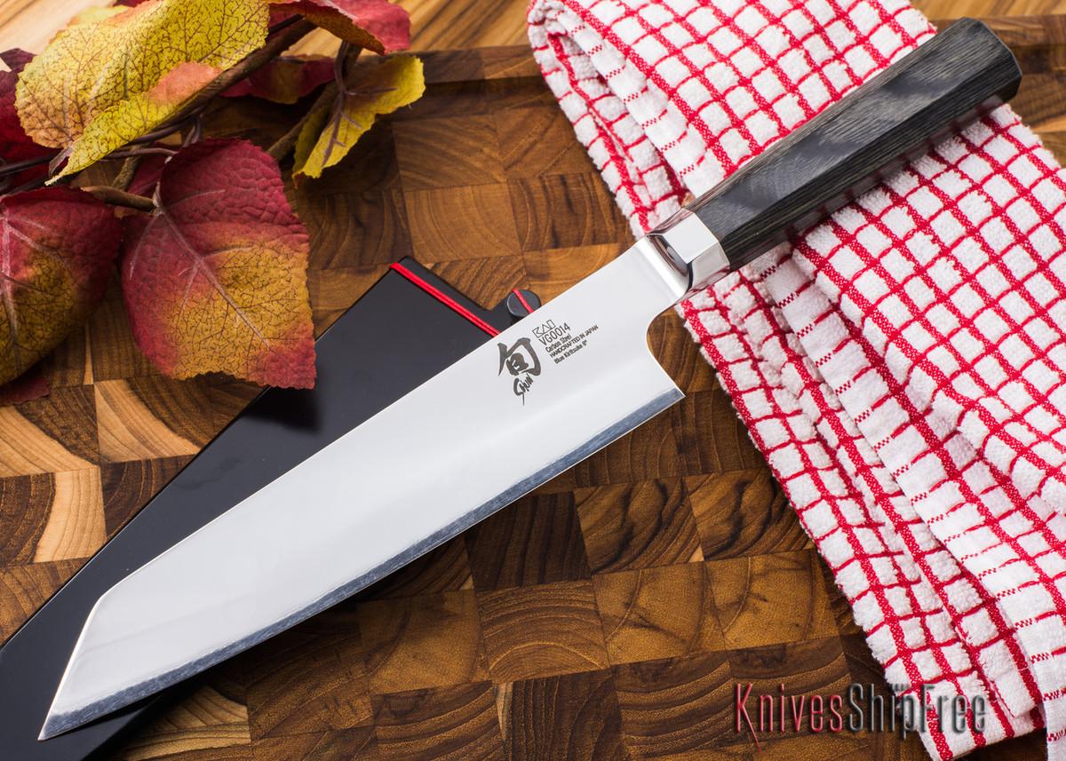 """Shun Knives: Shun Blue Kirisuke 8"""" - VG0014 primary image"""