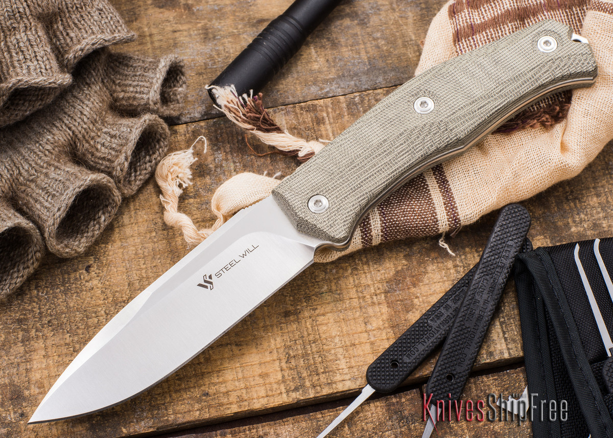 Steel Will Knives: Gekko 1510 Fixed Blade primary image
