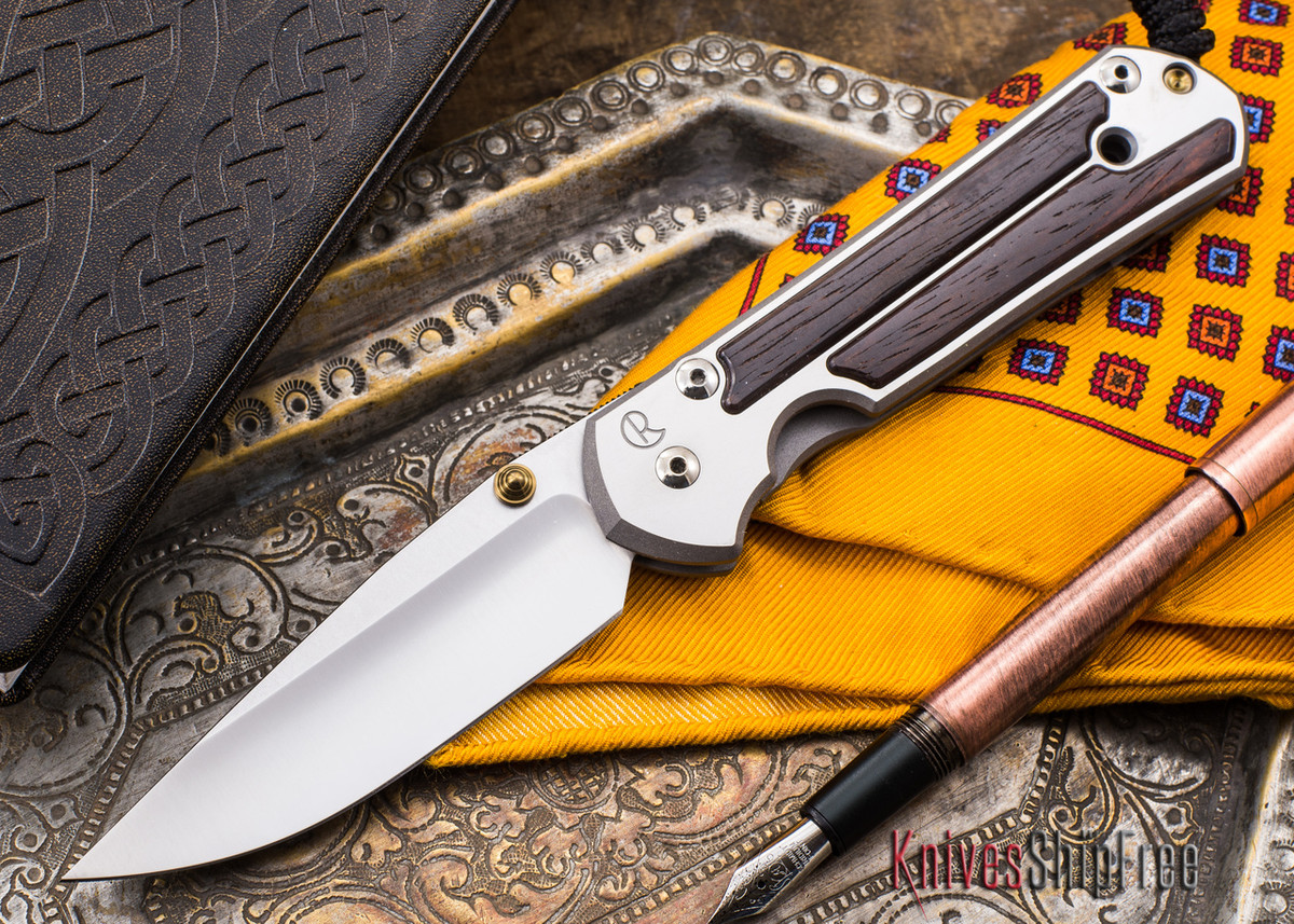 Chris Reeve Knives: Large Sebenza 21 - Cocobolo Inlay - 020402 primary image