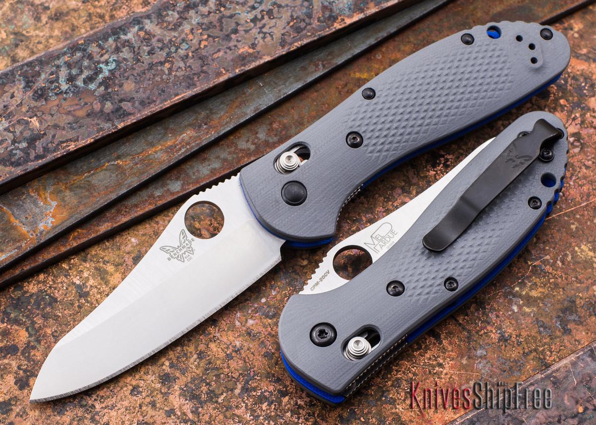 Benchmade Knives: 550-1 Griptilian - Gray G-10 - CPM 20CV primary image